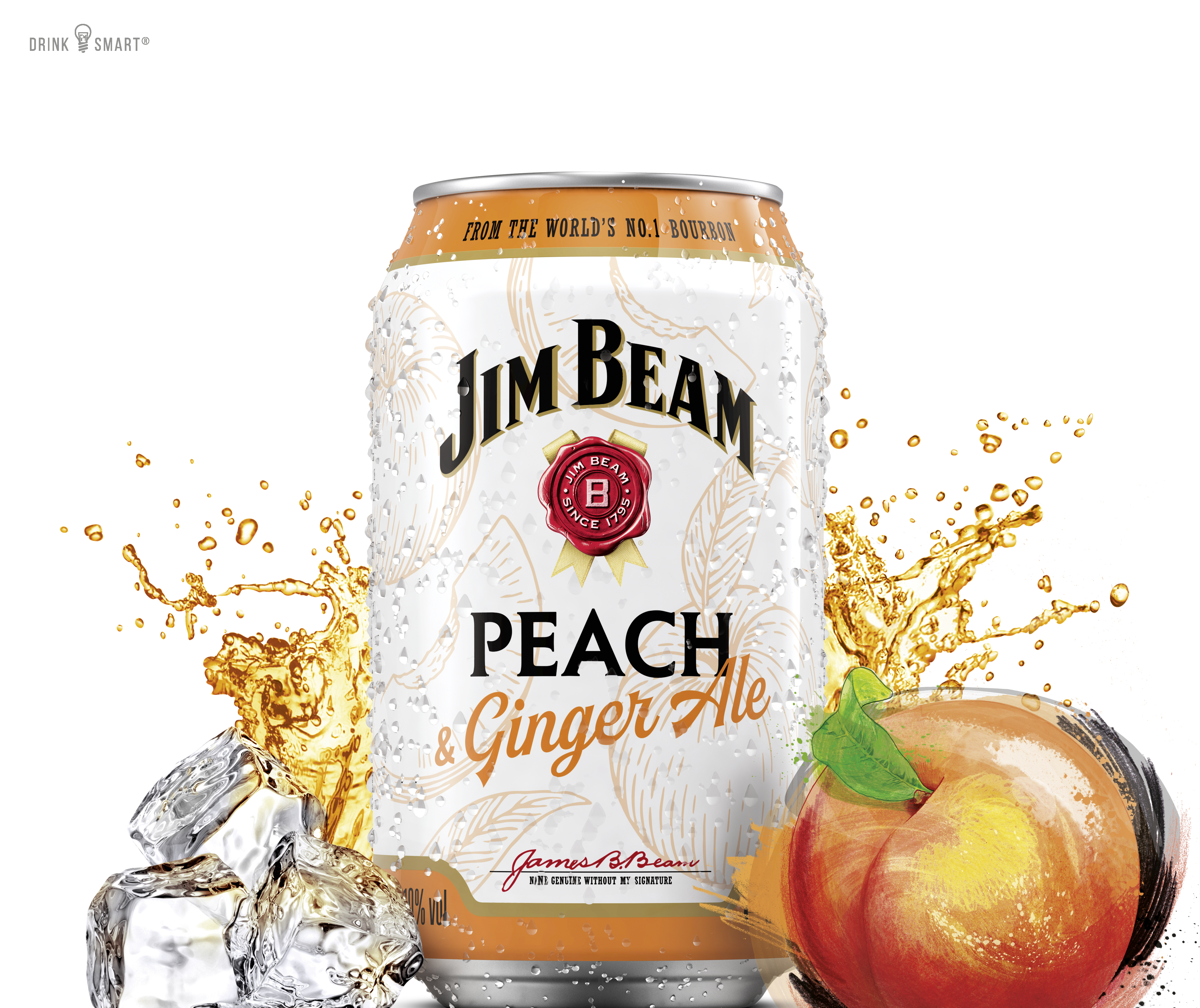 JIM Beam Peach CAN